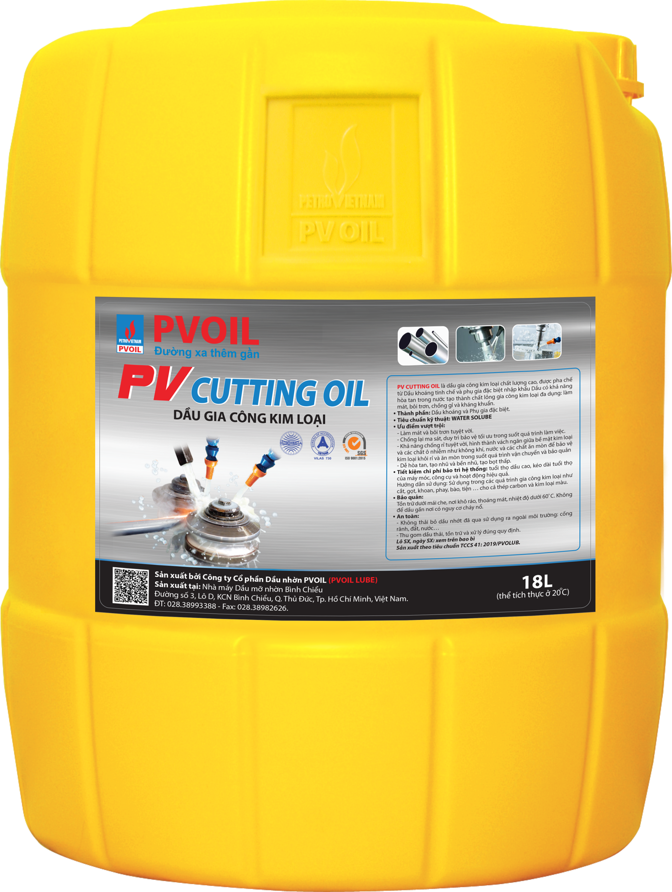 PV CUTTING OIL